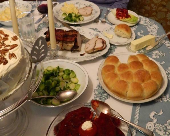 cookbookinabox's Holiday Dinner, Menu 104