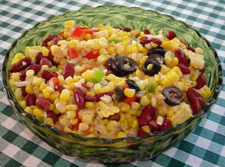 Southwestern Confetti Corn Salad