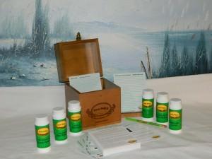 Nette Belle's Choice cookbookinabox hand-made maple wood recipe storage box