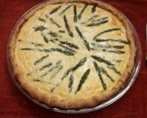A brunch idea:  An Asparagus Tart
