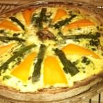 Baked Spinach and Zucchini Quiche