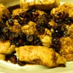 Cranberry Balsamic Glazed Chicken