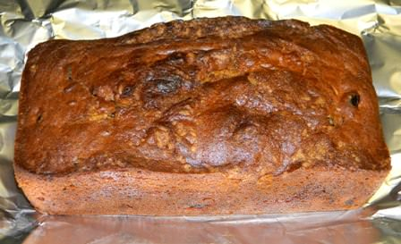 Loaf of Sweet Potato - Cranberry Bread