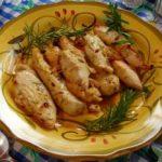 Lemon Bar-B-Que Chicken Beasts