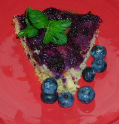 Bluleberry Upside Down Cake _750