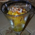 Orange almond simple salad_3727