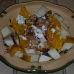 Pear orange simple salad _3797