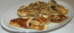 Chicken & Mushrooms in Herb Sauce