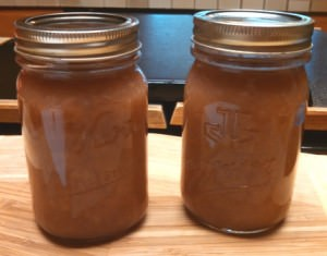 2 Pints of Spicy Red Anjou Pear Sauce