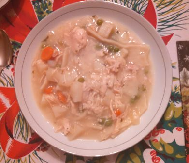 Delectable Chicken Noodle Soup