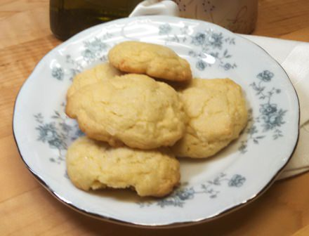 Olive Oil Coconut Sugar Cookies