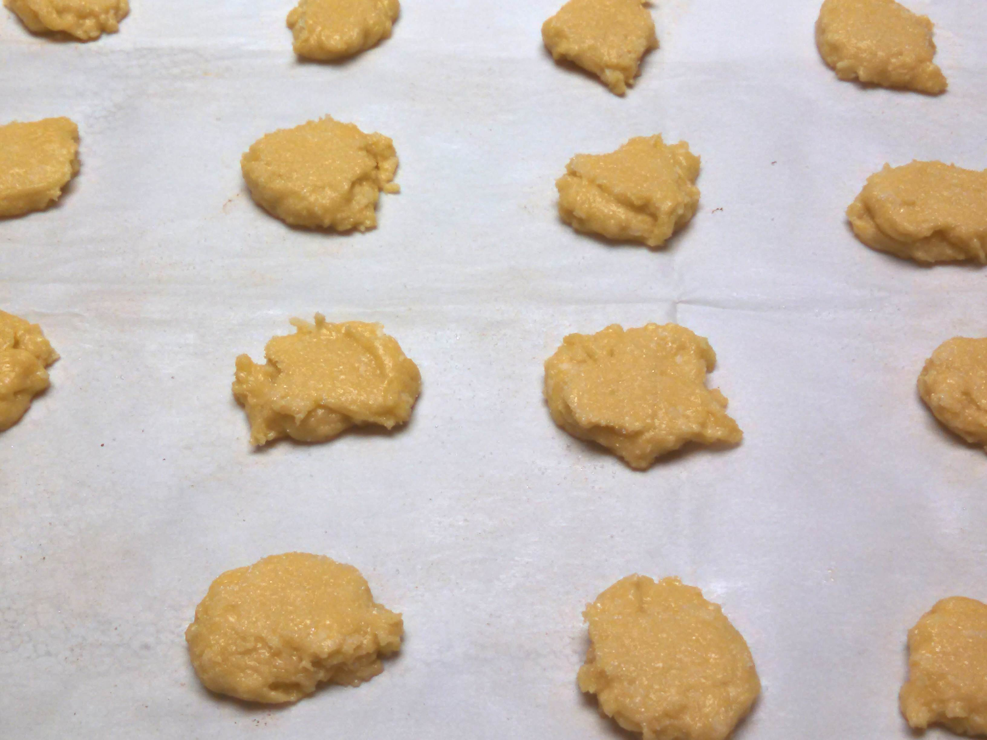 Oven ready Olive Oil Coconut Sugar Cookies