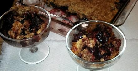 Cherry Crisp Dessert