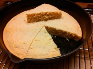 Stone Ground Corn Bread