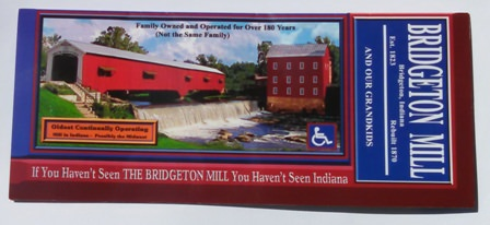 Bridgeton Mill in Parke County, Indiana