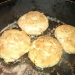 Browned Turkey Patties