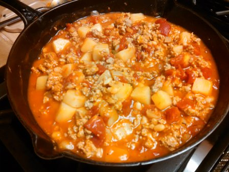 Turkey Chuckwagon Stew