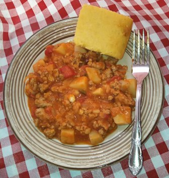 Chuckwagon Turkey Stew