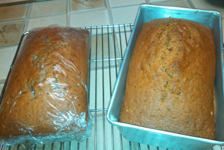 Loaves of Pumpkin Bread