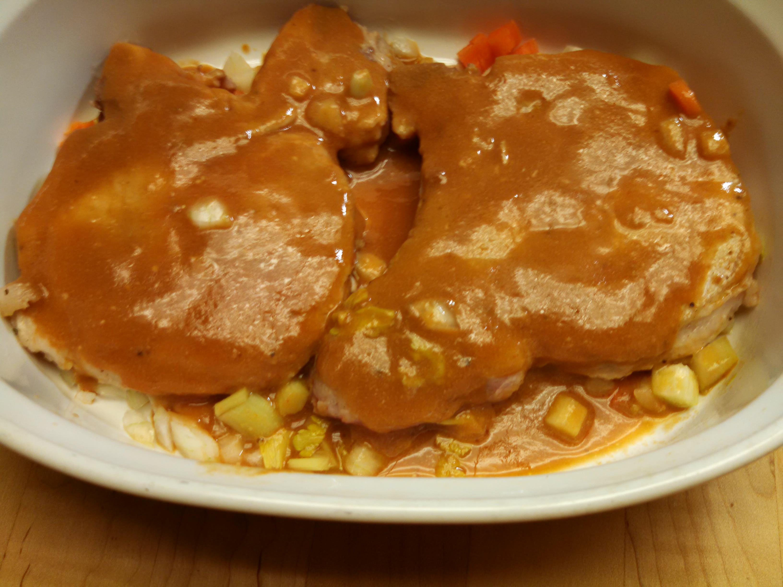 Baked Pork Chops in Sauce