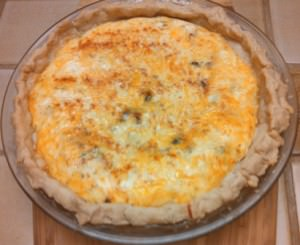 Cheese-Bacon Quiche
