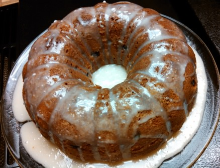 Glazed Sour Cream Bundt Coffee Cake