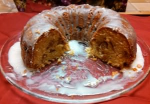 Sour Cream Bundt Coffee Cake with Cinnamon Strudel