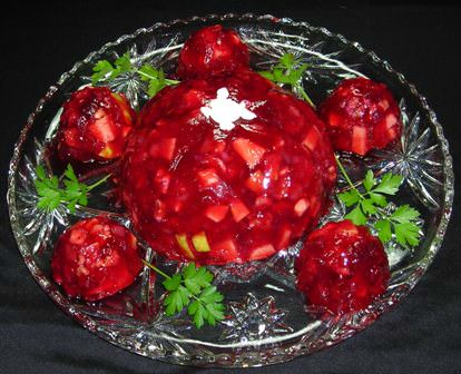 Cranberry Gelatin Salad
