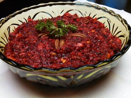 Fresh Cranberry Orange Salad