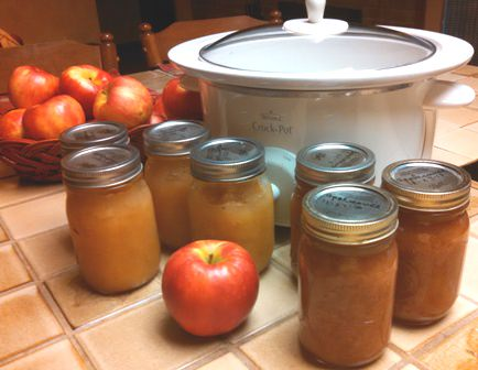 Crock Pot Honey Crisp Applesauce