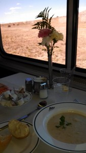 Lunch Amtrak Style