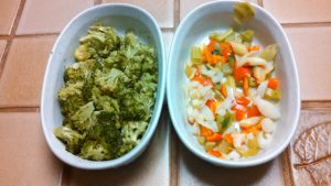 Steamed Broccoli and Vegetable Blend